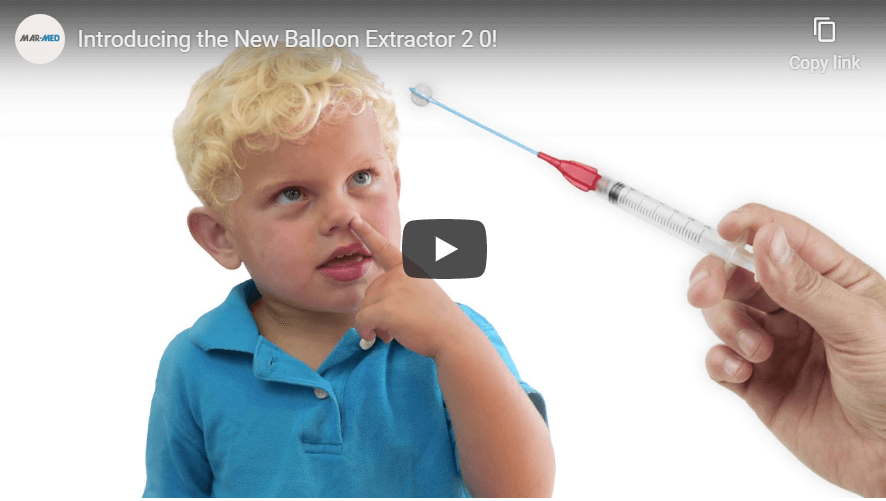 Balloon Extractor | Pediatric | Nasal Foreign Body Removal Device | Nasal Foreign Body Remover | Katz | Katz Alternate | PED | Emergency Medicine | Mar-Med Disposable Medical Devices